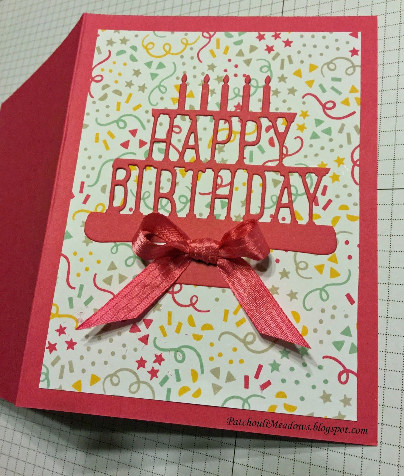 Patchouli meadows birthday cards pinterest party pops cards