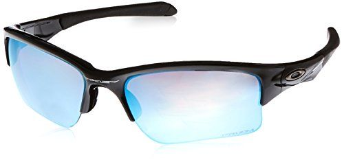 b120ca72dbf Oakley Quarter Jacket Prizm Deep Water Polarized Sunglasses Polished  BlackPrizm Salt Water Polarized     You can get more details by clicking on  the image.