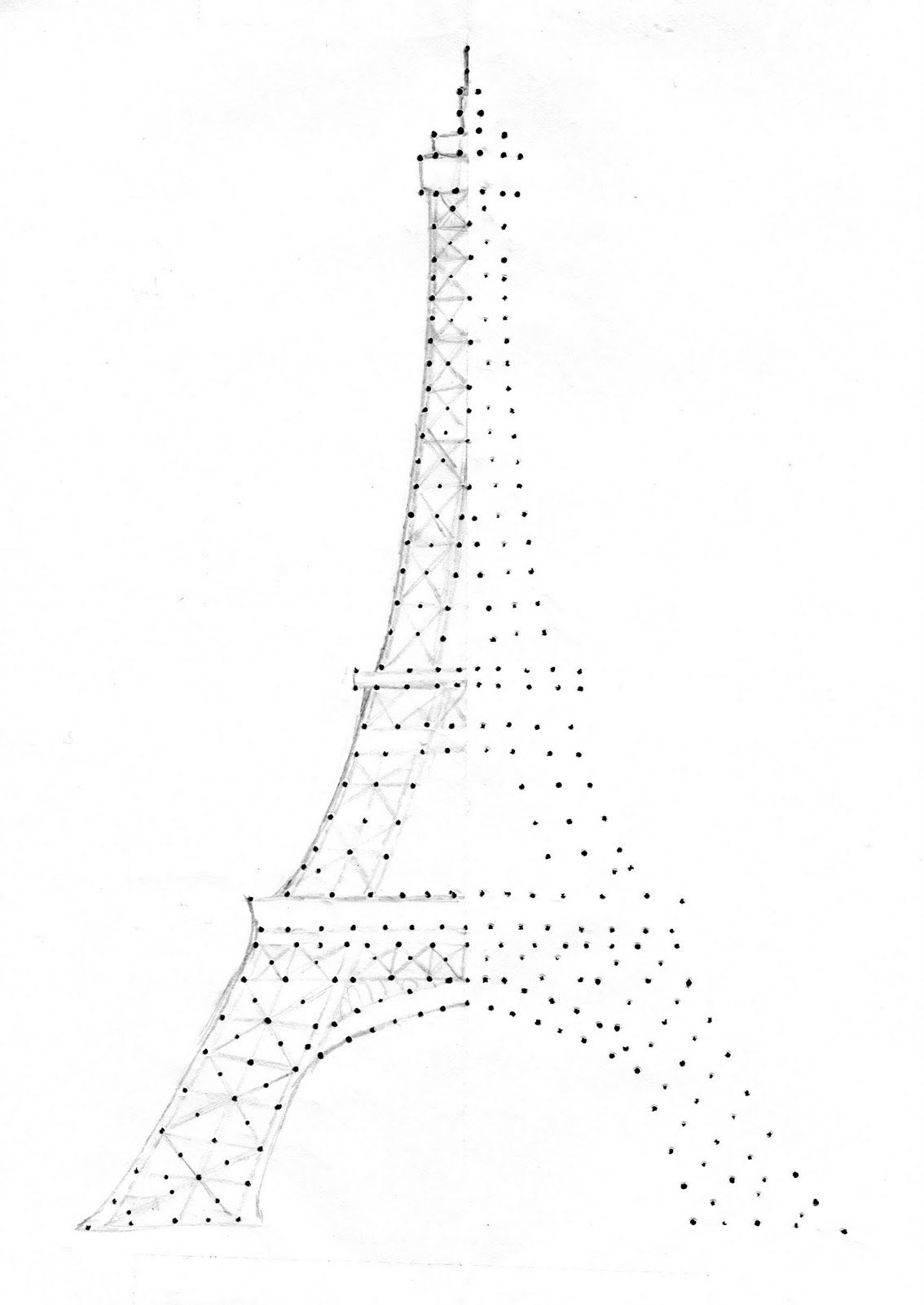 Richela Fabian Morgan (craftyrichela): Eiffel Tower Embroidery ...