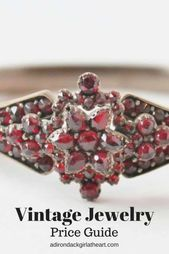 Photo of Antique & Vintage Costume Jewelry Price Guide • Adirondack Girl @ Heart  Vinta…