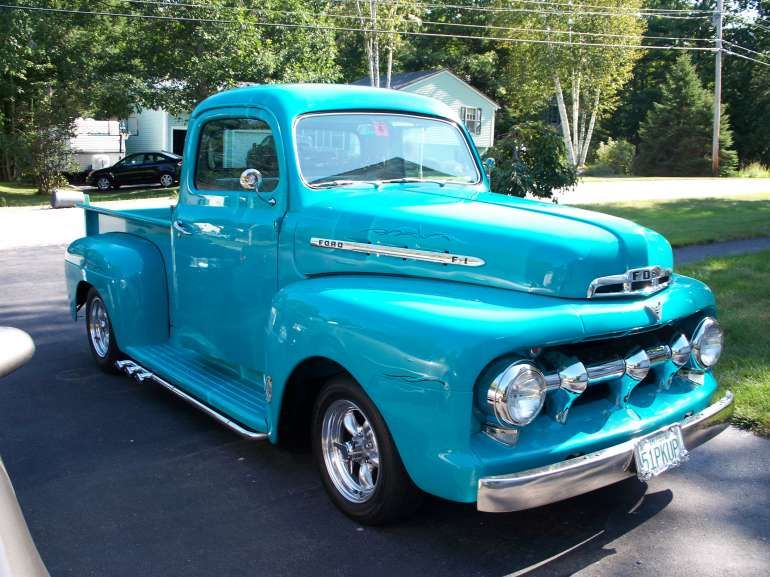 1951 Ford Truck With Lake Pipes I Would Only Want One If It Was
