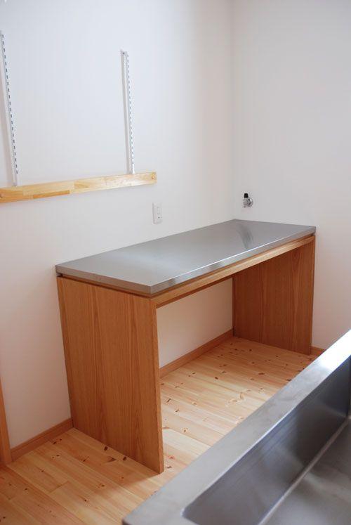 ステンレス 天板 作業台 キッチン 作業台 クレアーレ