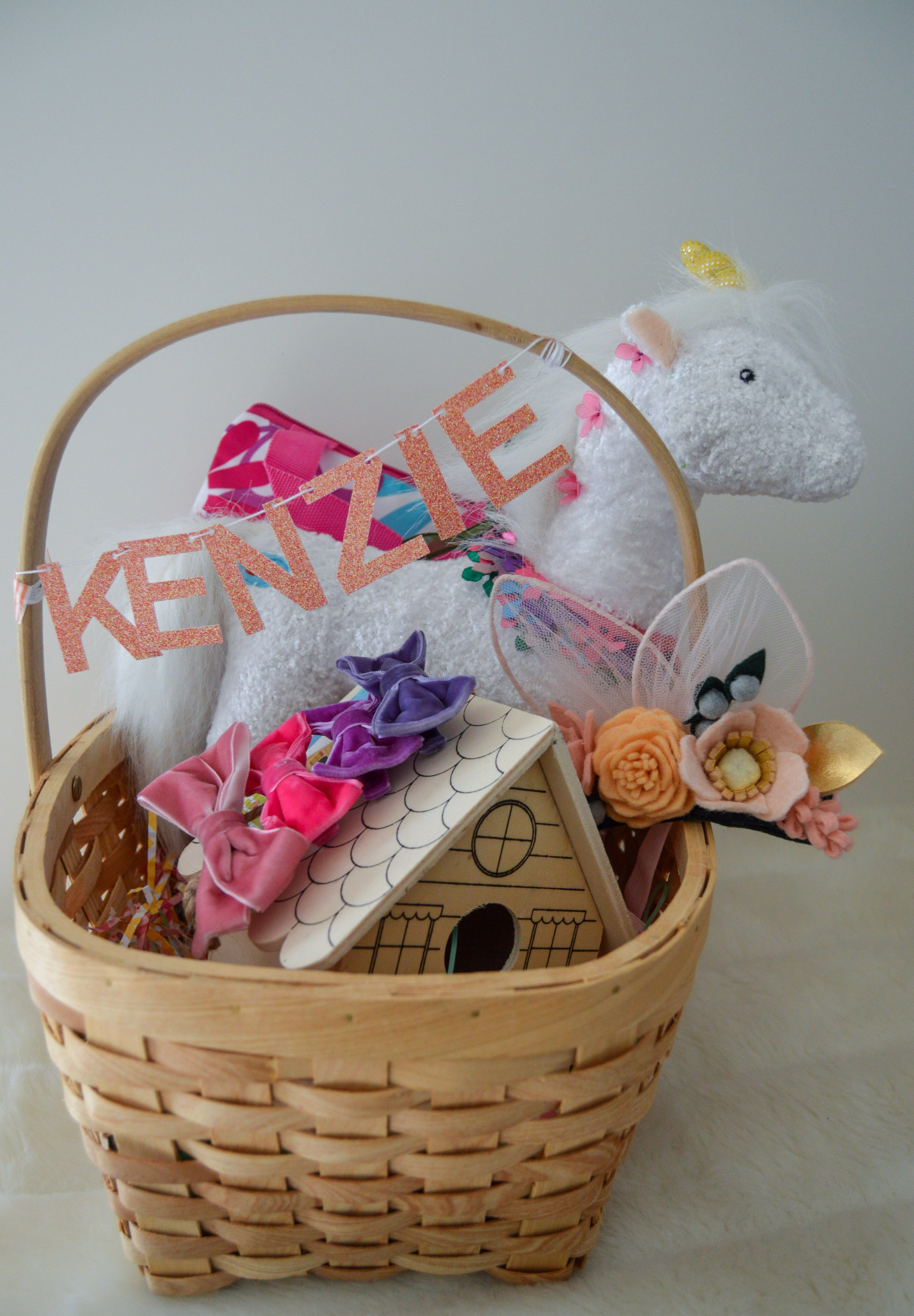Easter baskets for little girls aliish girls easter