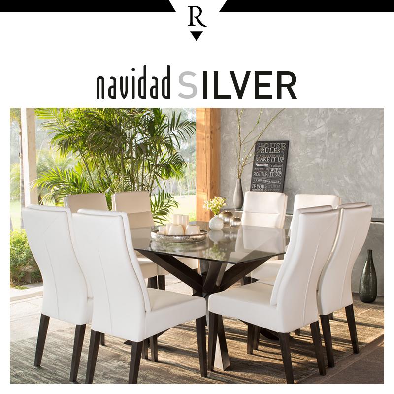 Celebra con estilo decora tu comedor con sillas blancas y una mesa de vidrio para darle a tu - Sillas comedor blancas ...
