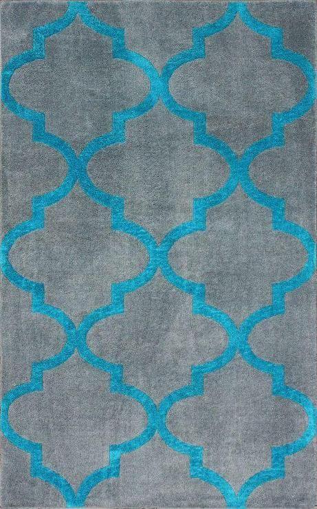 Serendipity Alene Trellis Grey Rug Rugs Usa Turquoise Rug Rug