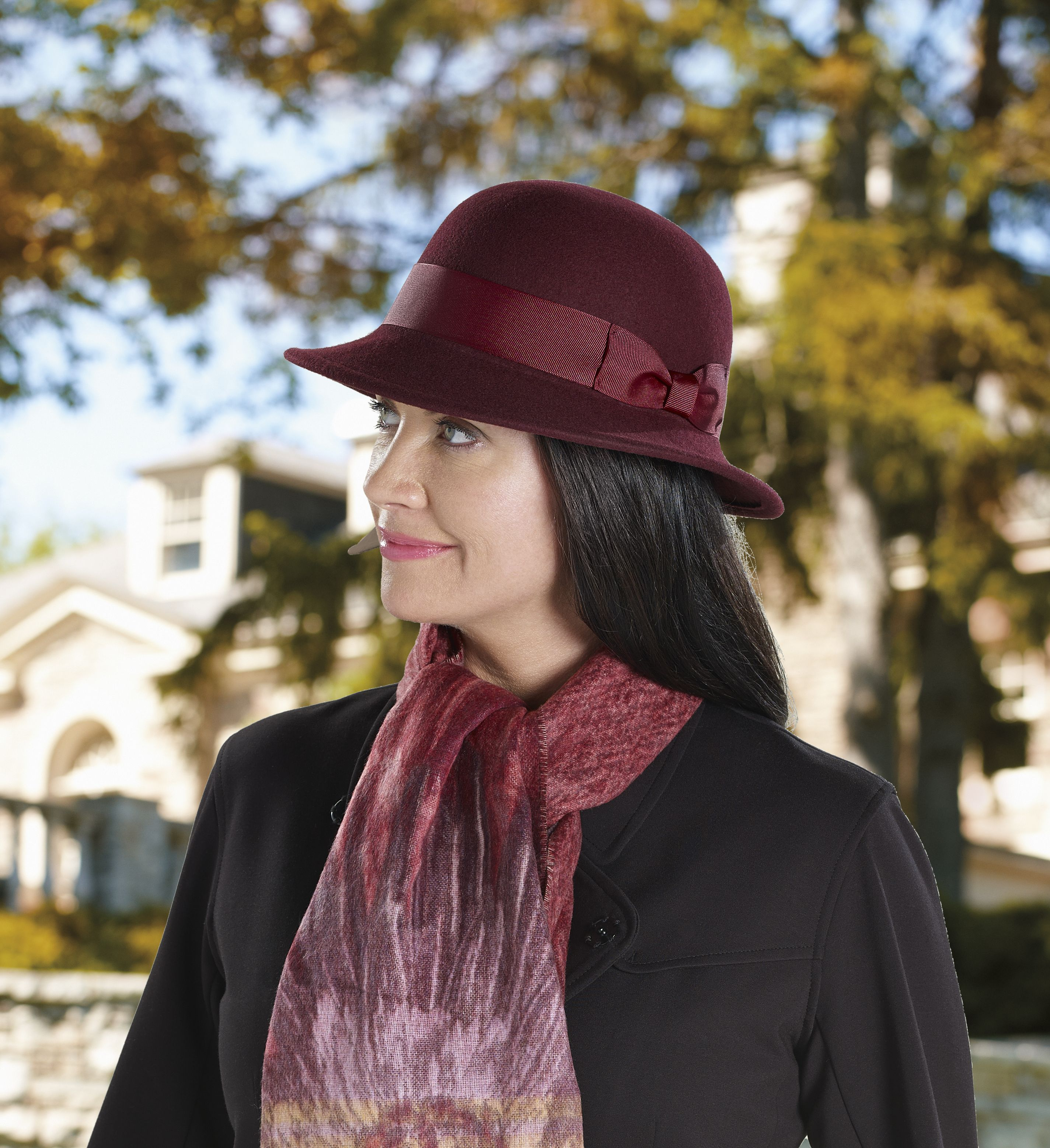 28e8c167 This wool felt Tilley hat offers a vintage style that can go casual or  dressy. Perfect for the fall or winter seasons!