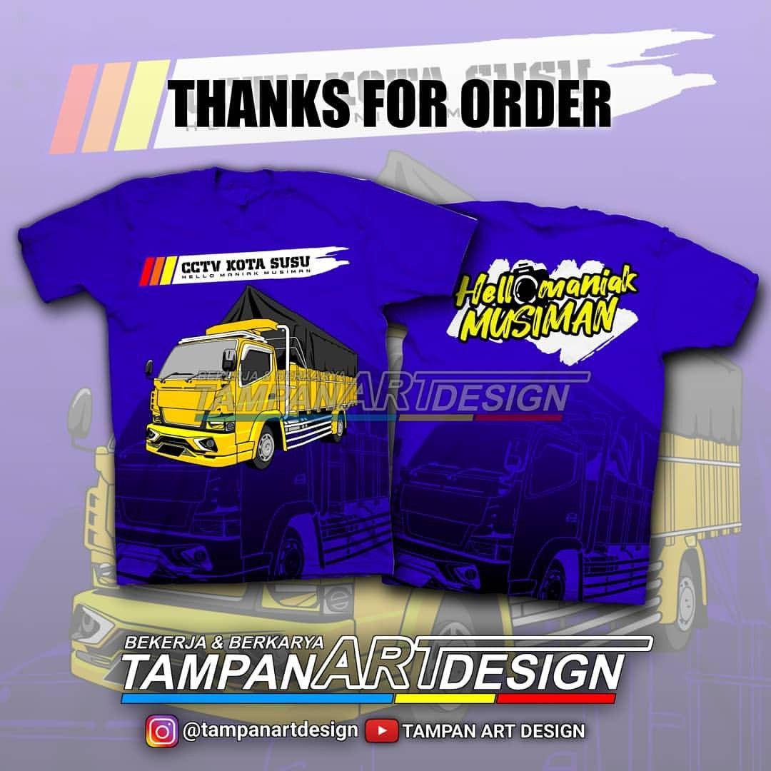 Download Vector Art Truck Desain Kaos Thanks For Order Cctv Kotasusu Minat Bikin Desain Vector Whatsapp 0895379041978 In 2021 Design Kaos Vector Artwork Design