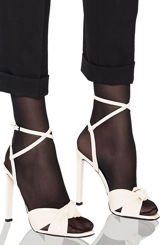 794350d41c5 SAINT LAURENT Patent Amy Ankle Strap Sandals.  saintlaurent  shoes ...