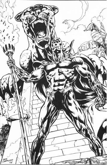 Black Panther Marvel Coloring Pages | LineArt: Hero-Detailed ...