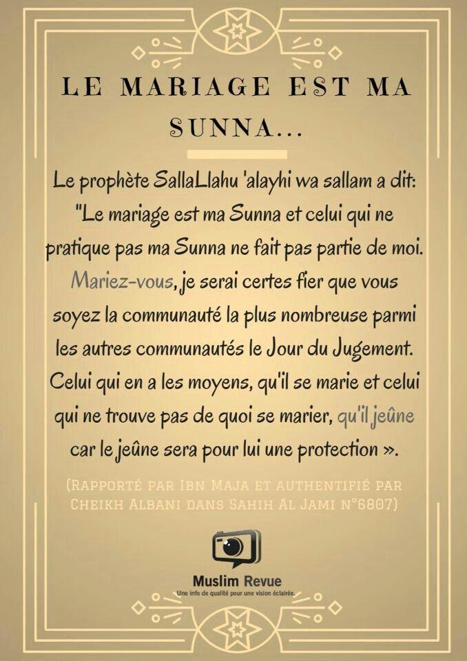 épinglé Par Nassira Yasmine Sur Citation Mariage En Islam