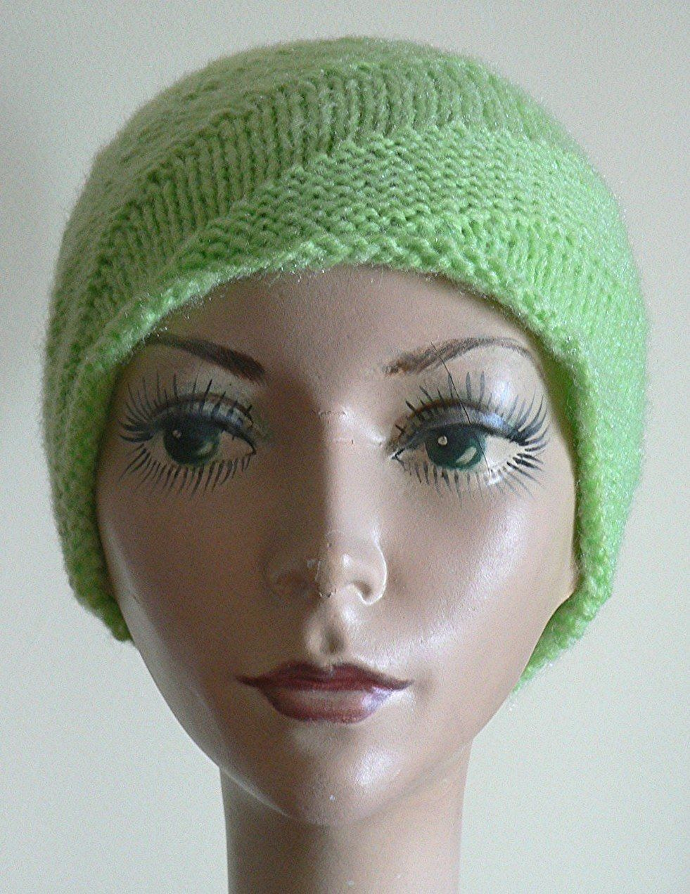 spiral knit hat   Knitting, Hat knitting patterns ...