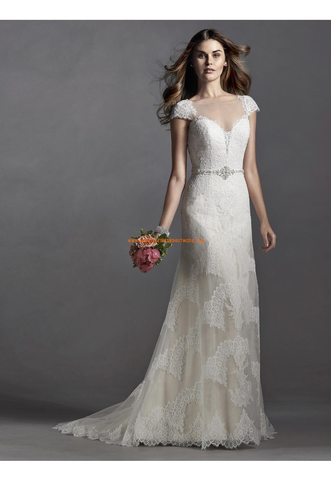 Meerjungfrau Schöne Ausgefallene Brautkleider aus Tüll mit ...