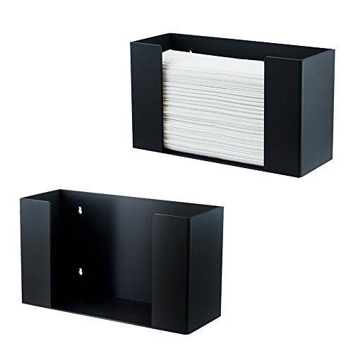 Houseables Paper Towel Dispenser Multifold C Fold Towels Holder