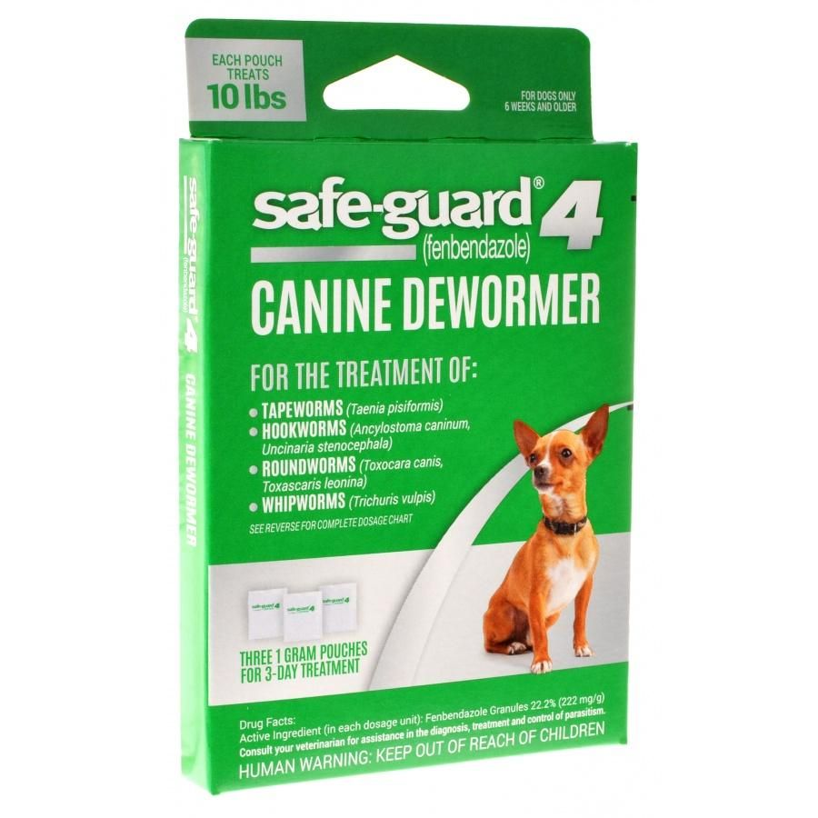 8 In 1 Pet Products Safe Guard 4 Canine Dewormer Canine Small Dogs Pets