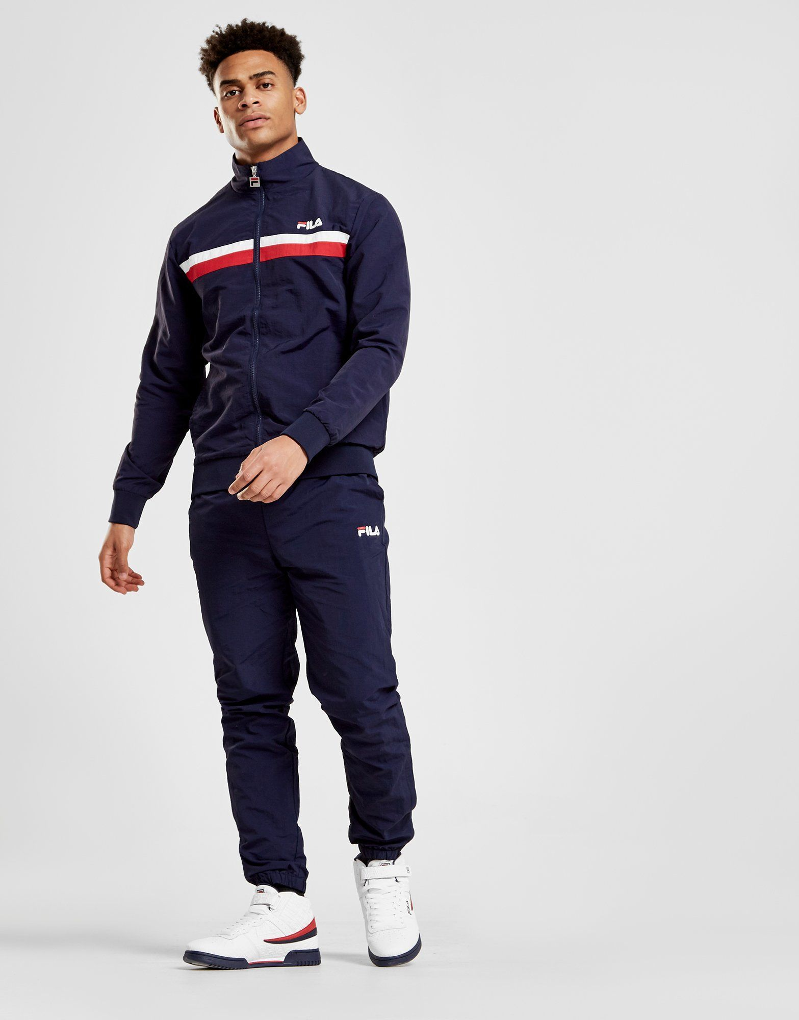 Fila Woven Tracksuit with JD Sports