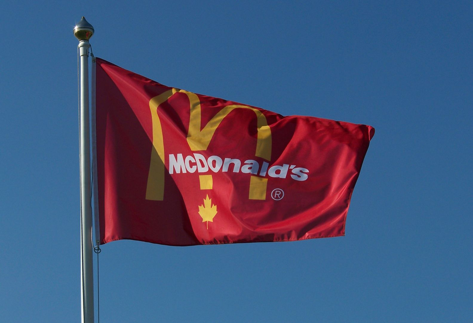 Flags Unlimited Custom Flag – McDonald\'s | Custom Flags | Pinterest