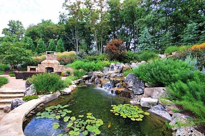 Teich bepflanzen! Mehr als 70 Ideen! Gartengestaltung Ideen Teich, Gartengestaltung, Garten ~ 12021521_Mein Schöner Garten Miniteich