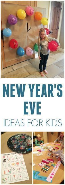 Easy New Year's Eve Party Ideas for Kids