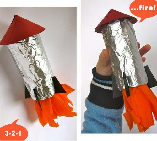rakete b a s t e l n m i t k i d s pinterest raketen weltall und kita. Black Bedroom Furniture Sets. Home Design Ideas