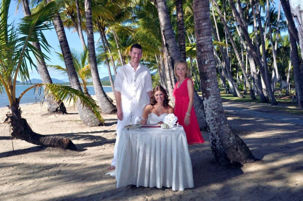 Palm Cove Beach, Cairns Qld...elopement From USA