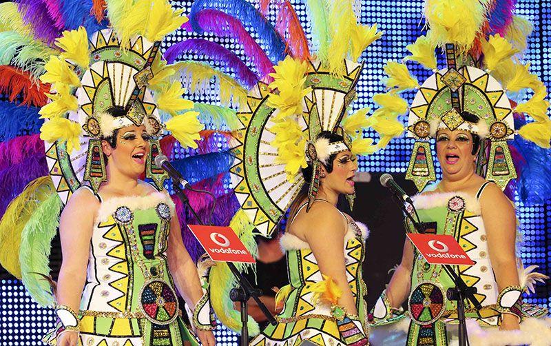 Resultado de imagen de agrupaciones musicales carnaval, santa cruz