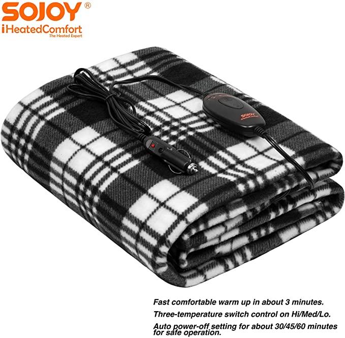 Sojoy 12V Heated Smart Multifunctional Travel