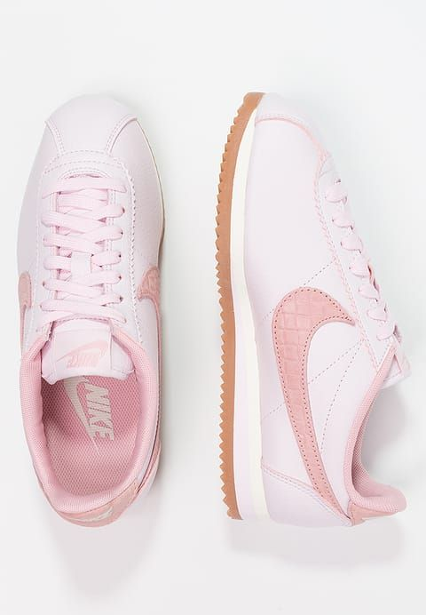 Chaussures Nike Sportswear CLASSIC CORTEZ LUX - Baskets basses - pearl pink/medium  brown/