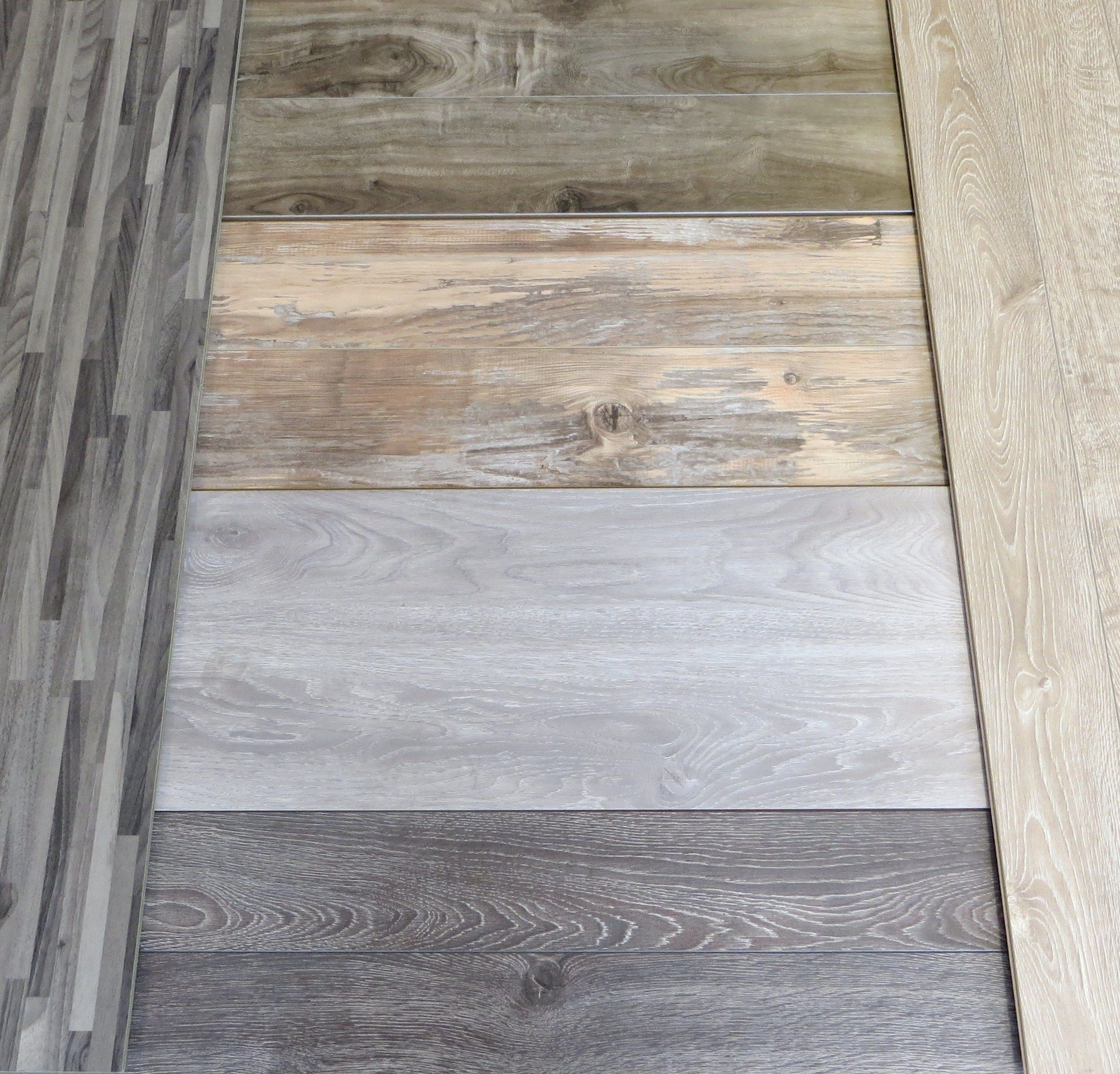 Grey And White Laminate Hardwood