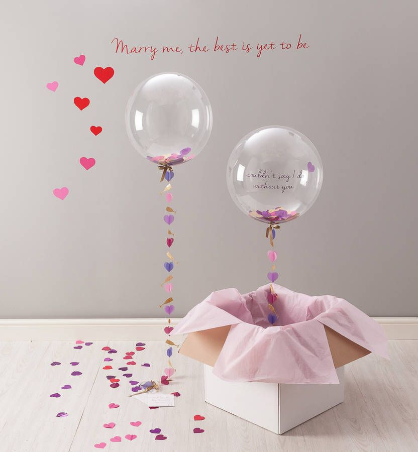 Will you be my Bridesmaid personalized message inside balloon in gift box garnished in your wedding colors will you be my Junior bridesmaid