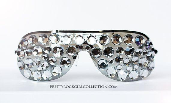 343c3c63f44 Bling Rhinestone Sunglasses for men and women by PrettyRockGirl ...