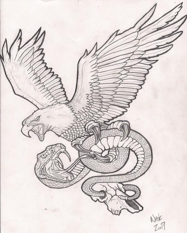 Image Result For Snake And Eagle Fighting Sleeve Tattoos Eagle