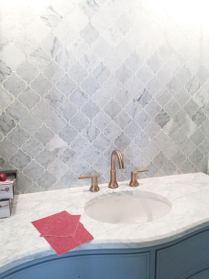 First Floor Bathroom Tile Curve Bower Power-36 | Bathrooms I like ...