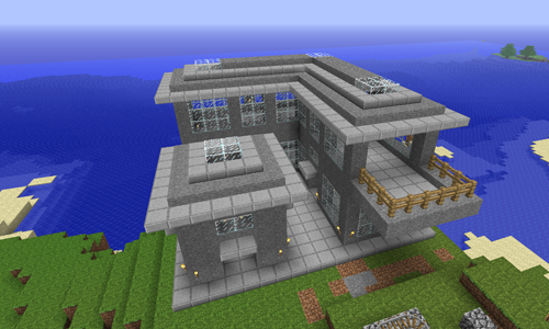 Cool minecraft house designs xbox 360 house design and - Construcciones coolbuild ...