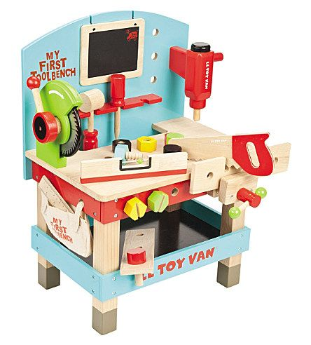 Amazing Le Toy Van Wooden My First Toolbench Jouets Enfants Tool Creativecarmelina Interior Chair Design Creativecarmelinacom
