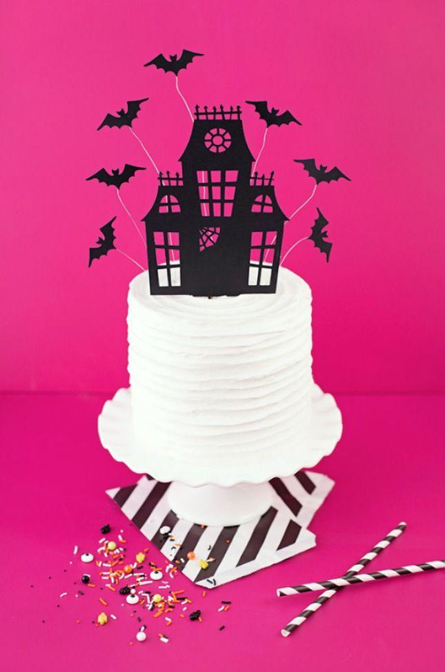 Favorite Halloween Projects Halloween vinyl and Halloween ideas - cake decorations for halloween
