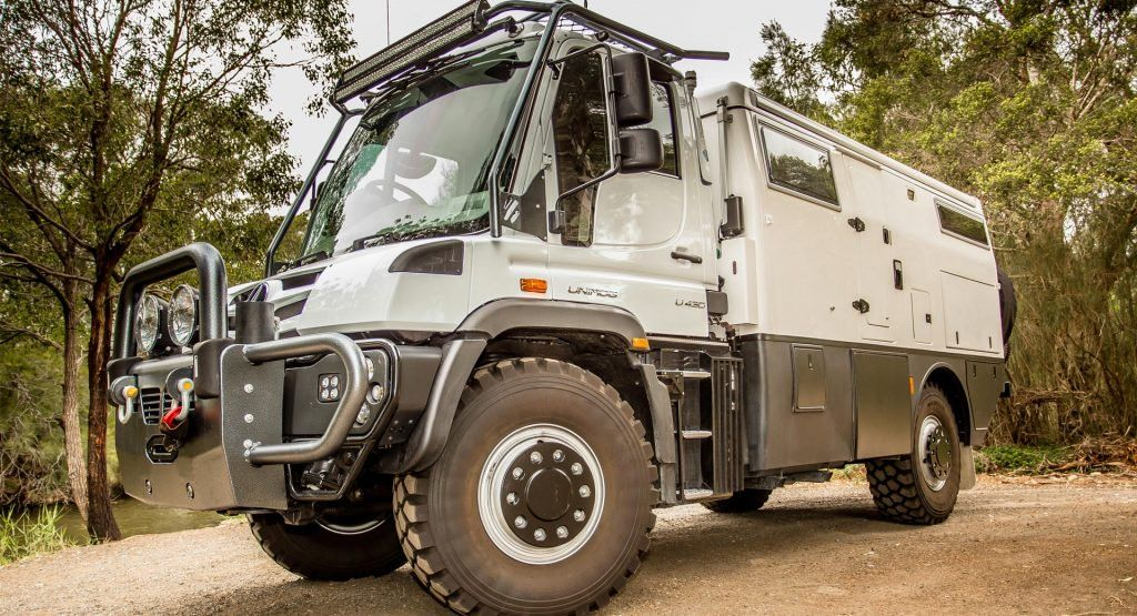This Unimog Based Rv Is Fit For The End Of The World Mercedes