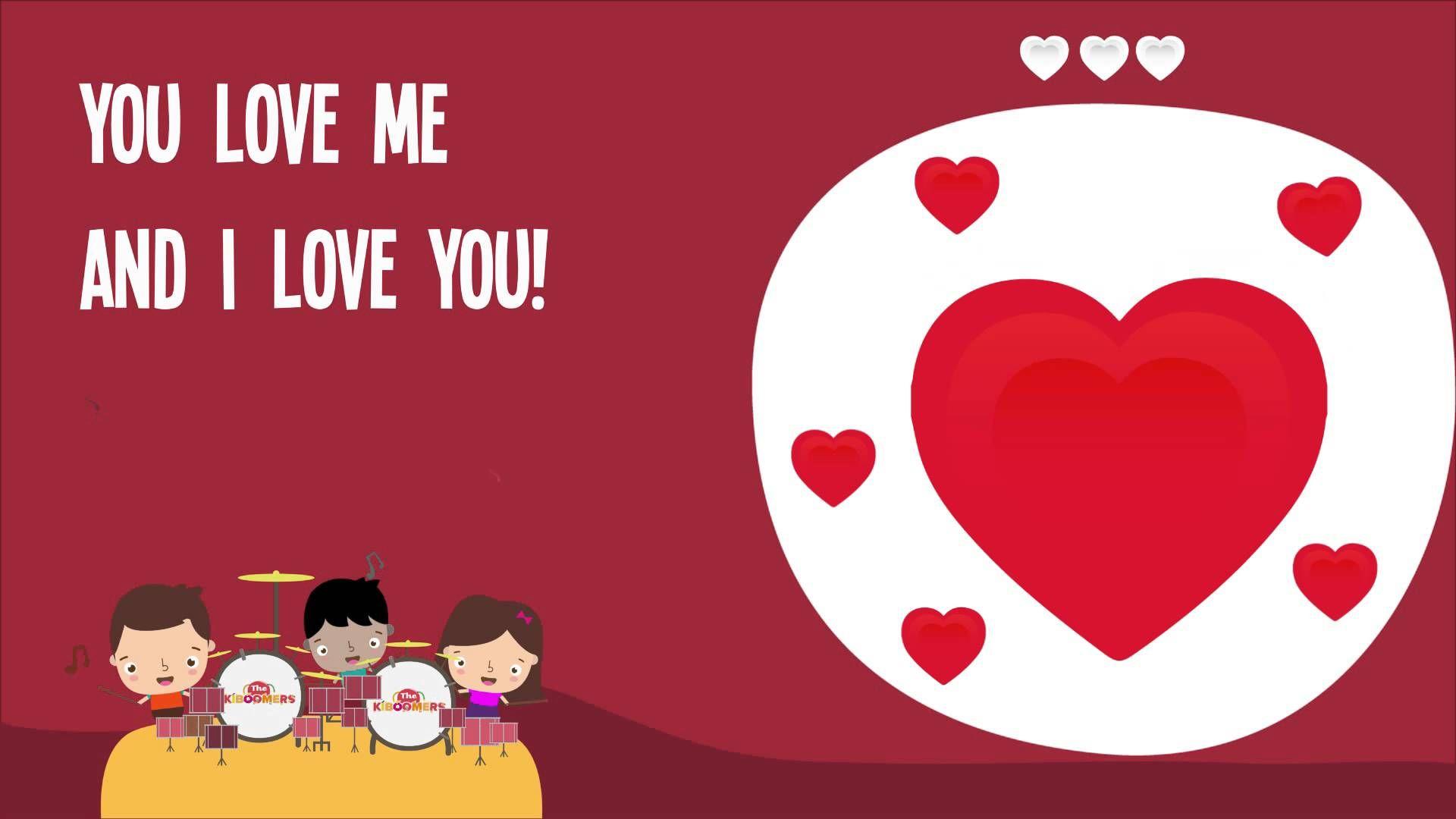 I Love You Song for Kids | I Love You Song Lyrics | Nursery