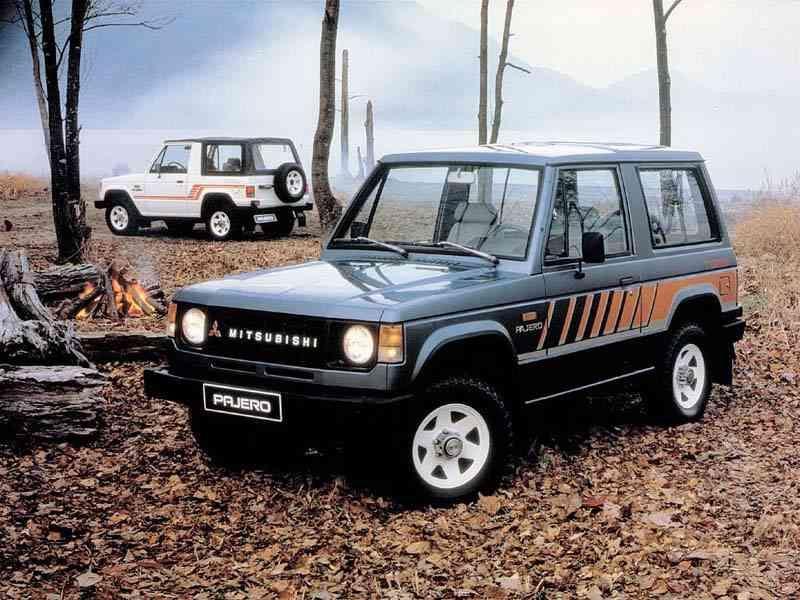 1986 Mitsubishi Montero Pajero New Car Mitsubishi Suv Mitsubishi Pajero Mitsubishi