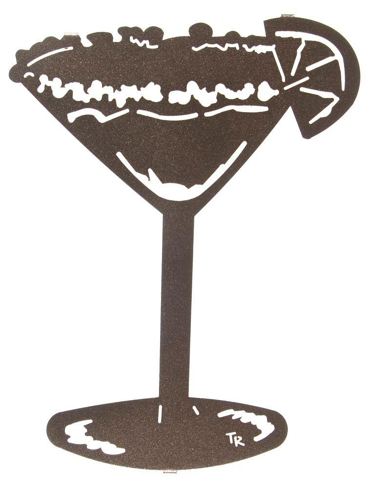 12 Margarita Glass Wall Art Www Rusticeditions Com Wine Wall Art Wall Art Metal Wall Art