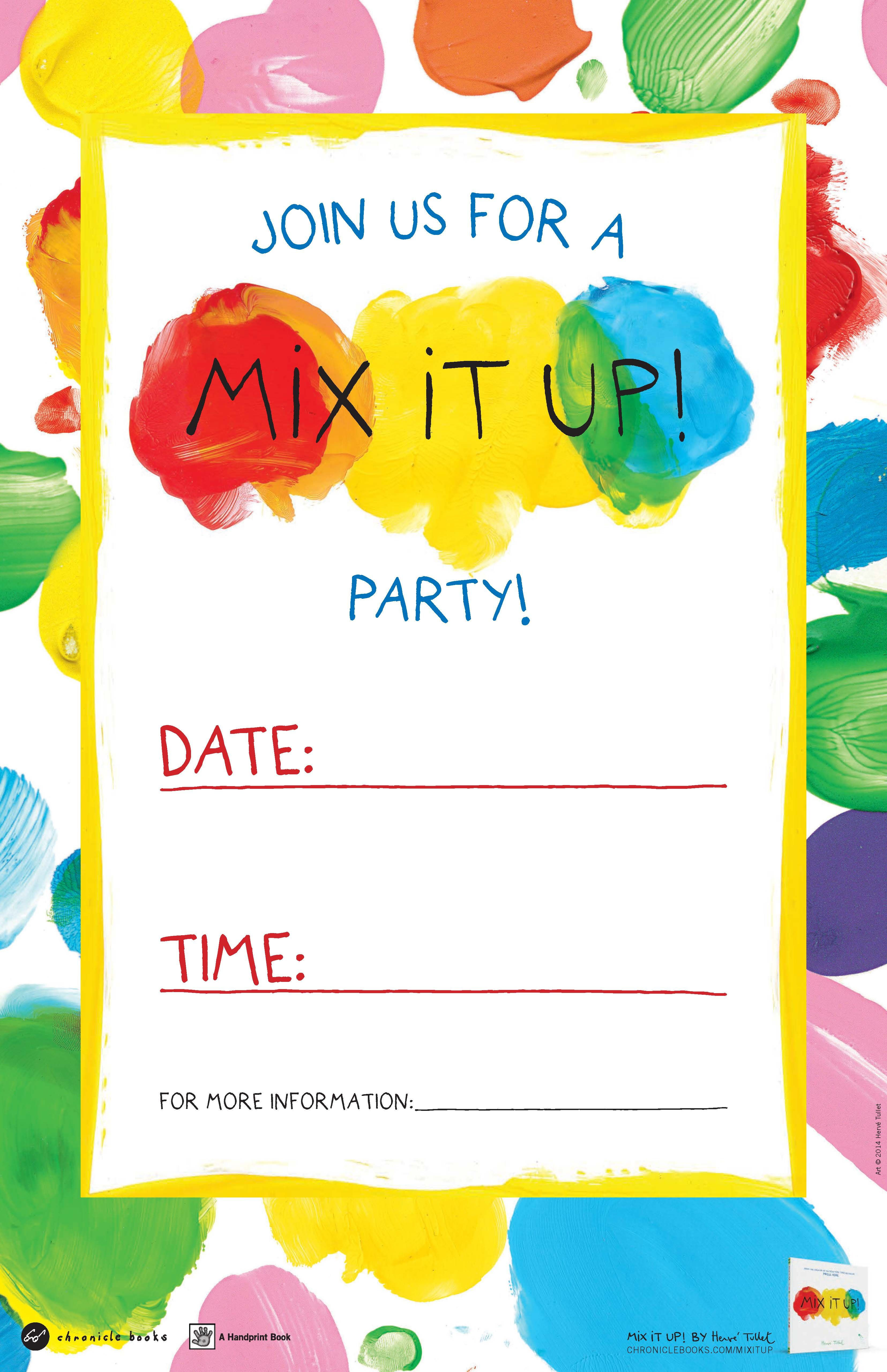 Download An Activity Kit For Mix It Up By Herve Tullet