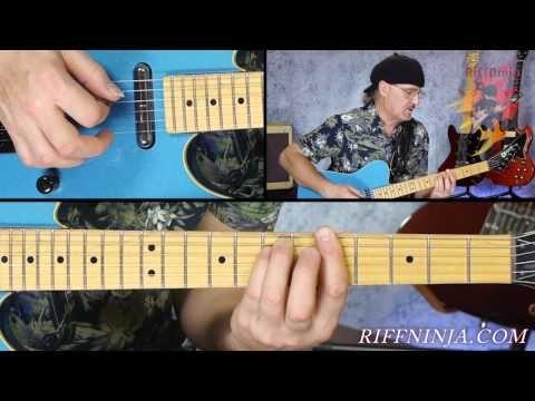 Guitar Lesson Blue Jean Blues By Zz Top Jeff Healey Version