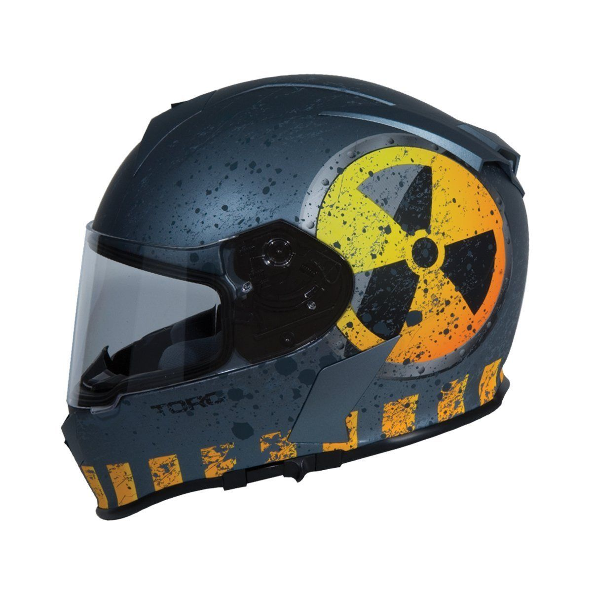 3e5c29c1 TORC T14 Mako Nuke Full Face Helmet Flat Grey | Products | Bluetooth ...