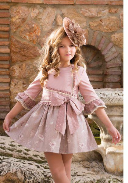 45fd19bc Comprar online vestido de manga larga de Nekenia. Sacha Moda Infantil, tienda  online de ropa infantil de las mejores marcas.