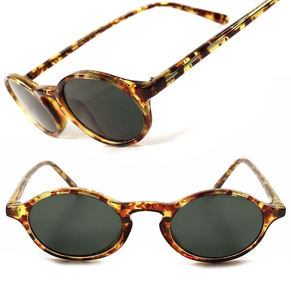ed9352387b Old School Vintage Retro 80 s Hippie Hot Mens Womens Oval Round Sunglasses  E72C  KISS  Round