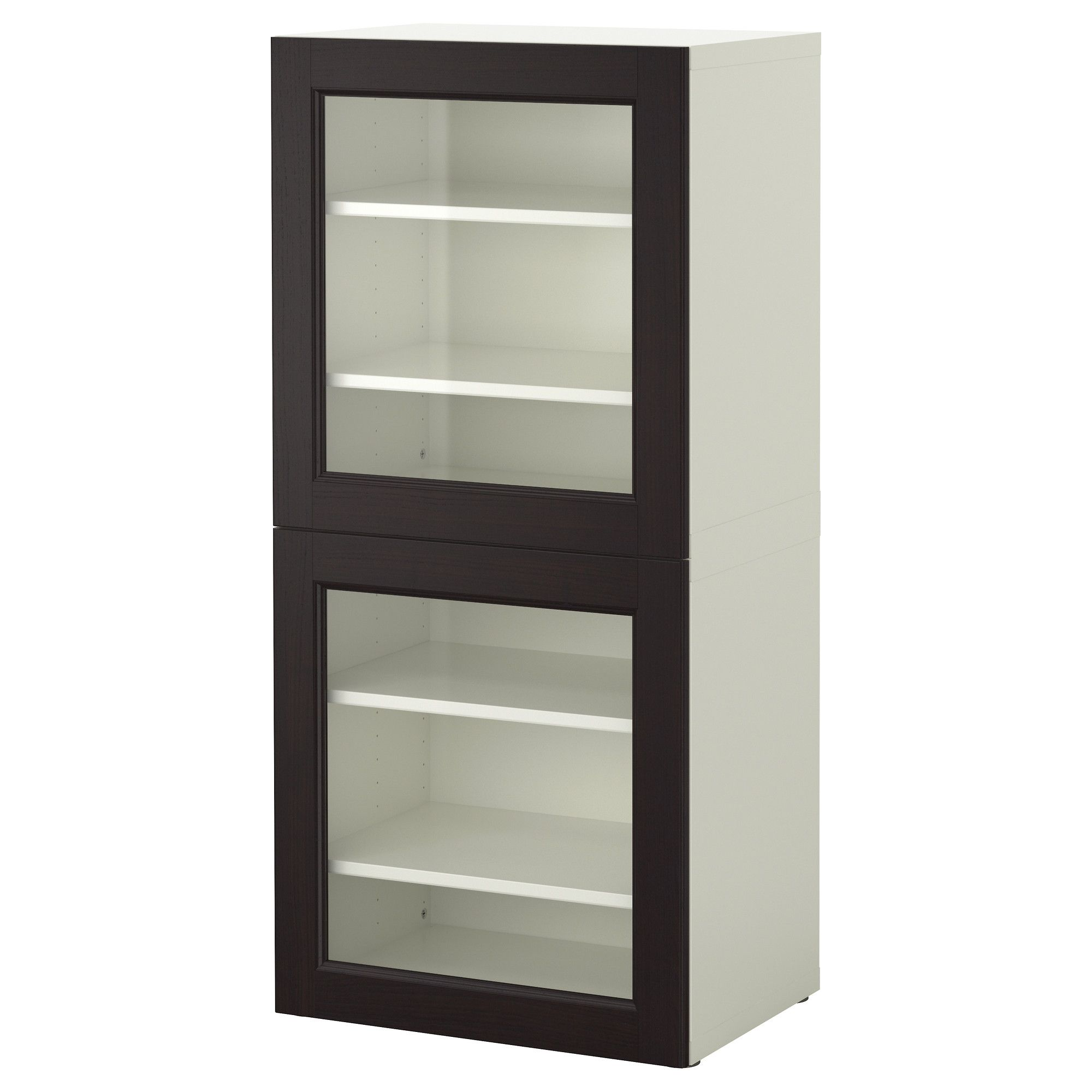 BEST… Storage bination w glass doors IKEA Could display
