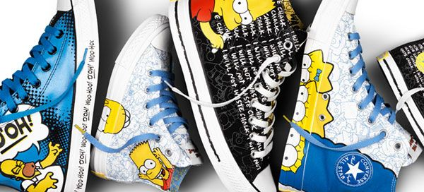 Converse x The Simpsons
