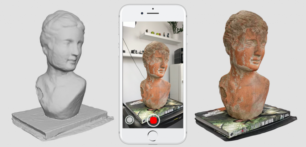 Free 3D Scanning from Video by using just a Smartphone