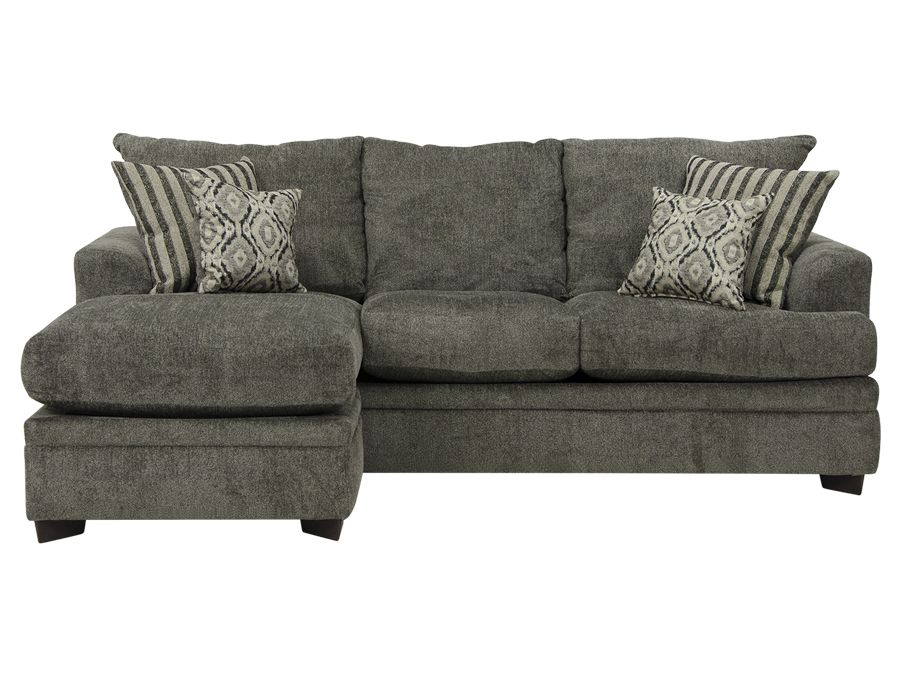 outlet store db5aa a9664 $450 at Consignment Furniture (new) Cornell Pewter Sofa ...