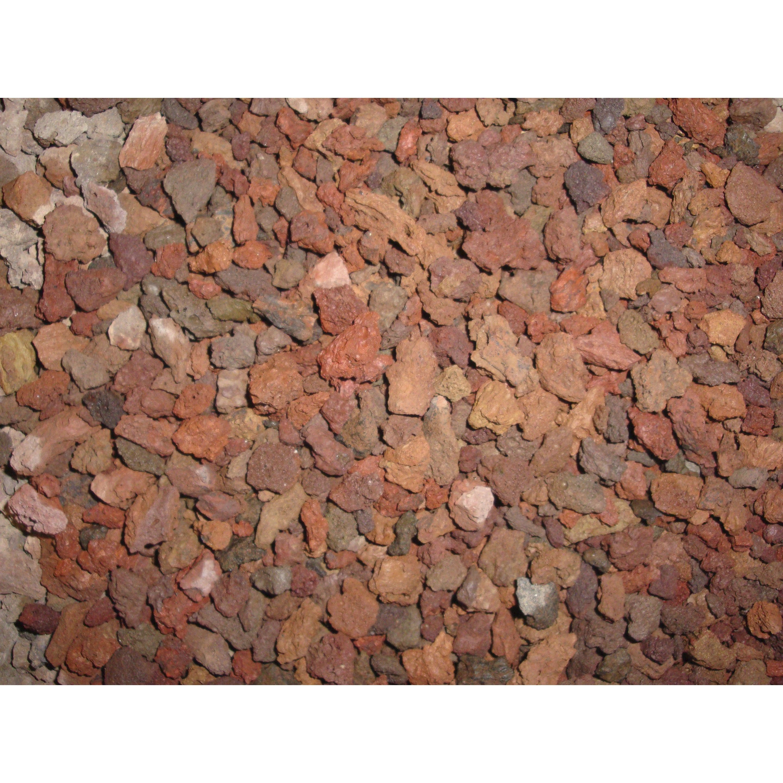 Pouzzolane Pierre Naturelle Rouge Roche Volcanique 6 12mm 1 T Geolia Roche Volcanique Pierre Naturelle Et Pierre