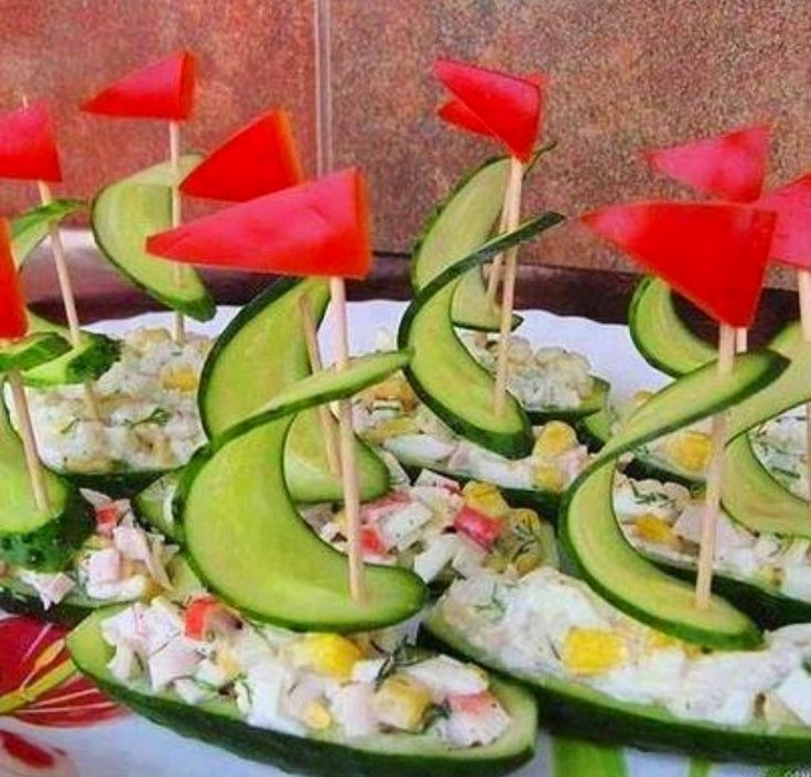 Nautical Themed Party Appetizers Salad Fun Food Funfood